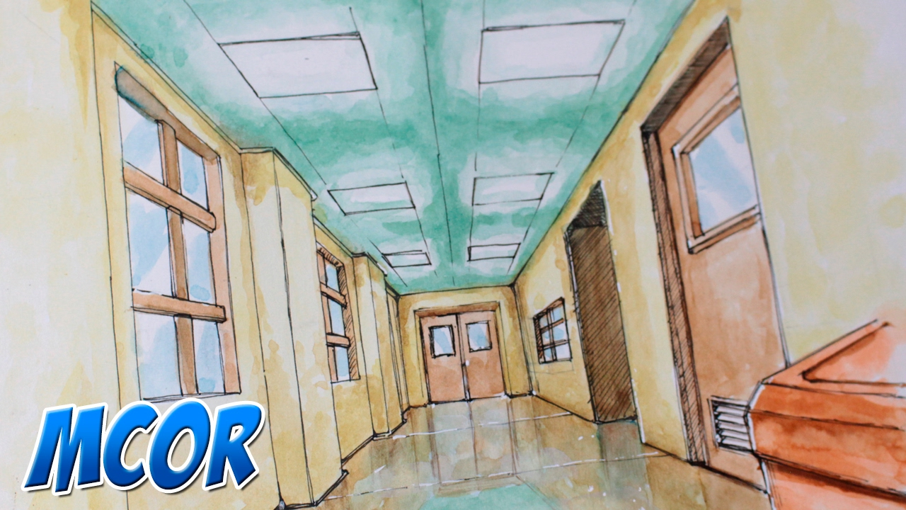 como dibujar una sala de escuela anime manga youtube