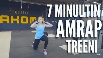 7 minuutin AMRAP-treeni - Annina Vainio