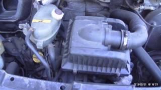 Работа дизеля Opel Movano