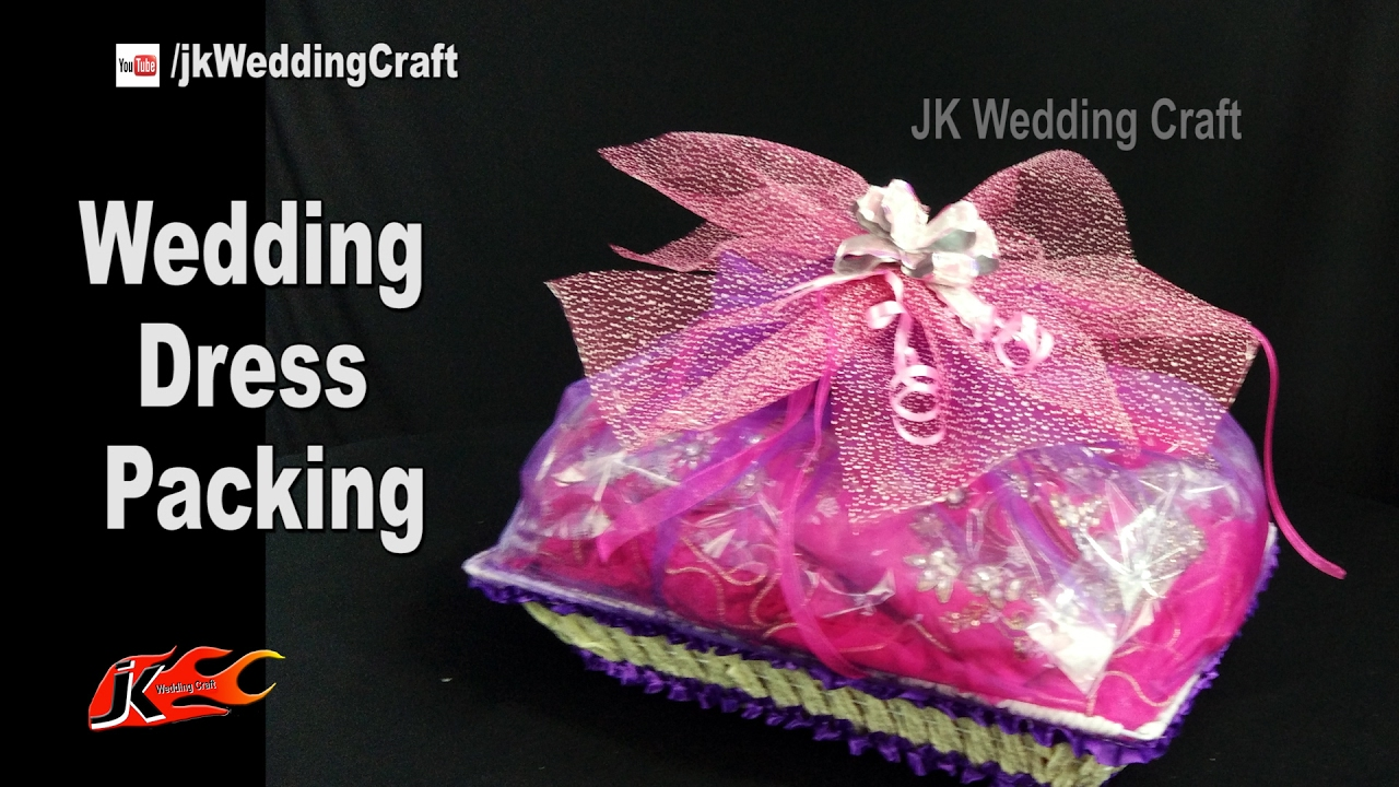 Wedding Gifts Packing Designs: How To Pack Wedding Dress