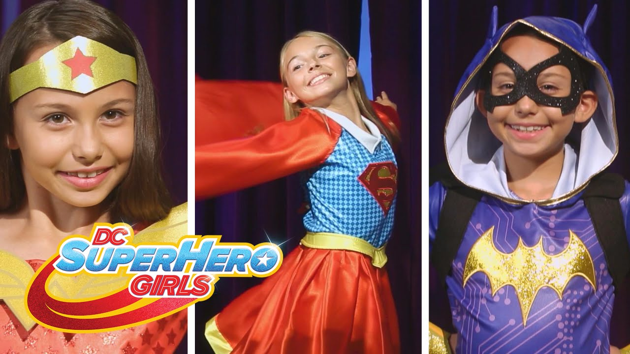 Get Your Cape On This Halloween Dc Super Hero Girls Youtube
