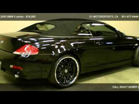 BMW Series Ci Convertible For Sale In Riverside CA - 2004 bmw 645ci convertible for sale
