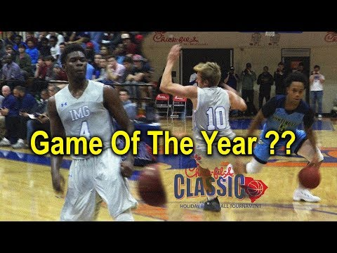 Game Of The Year?! IMG V Huntington OT Thriller !!! Crossover Of The Year??