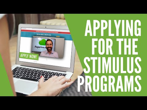 How to Apply for the Stimulus Package Loan Programs