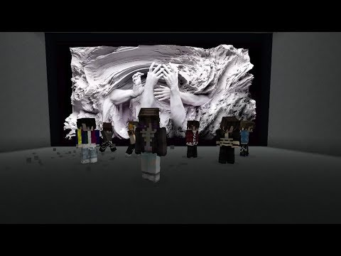 BTS FAKE LOVE MV In Minecraft W/ Song