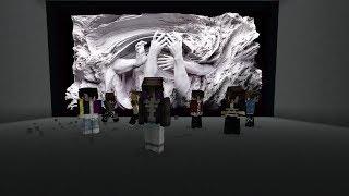 BTS FAKE LOVE MV in Minecraft w Song