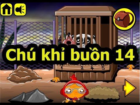 Chú khỉ buồn 14, Chơi game chú khỉ buồn online tại Gamehay24h.vn