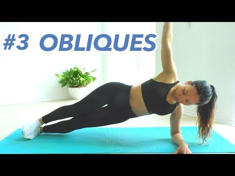 Obliques and Lower Ab Get Hourglass Figure 21 Day Lose Belly Fat Challenge #3