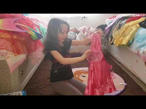 Princess dress fashion show Aimee