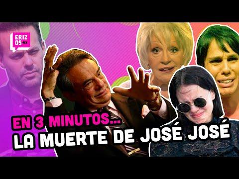 La muerte de José José y la pelea por su HERENCIA | En 3 minutos