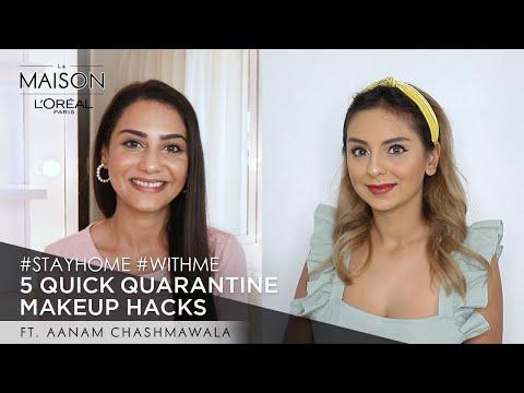 Lockdown Binge | Simmy & Aanam C. | #StayHome & Learn Makeup Hacks #WithMe | Makeup for Beginners