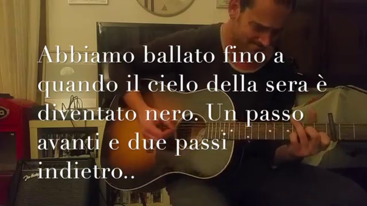 one step up - bruce springsteen - coverzerbo - sub ita - youtube