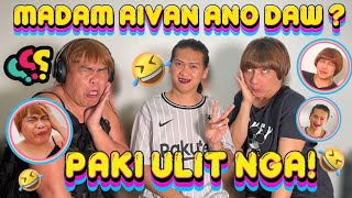 Whisper challenge with Madam Aivan