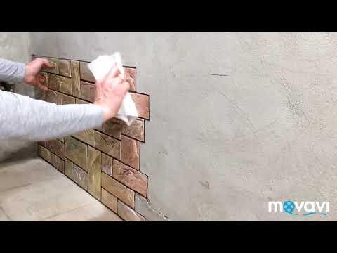 Как клеить панели пвх на стену жидкими гвоздями