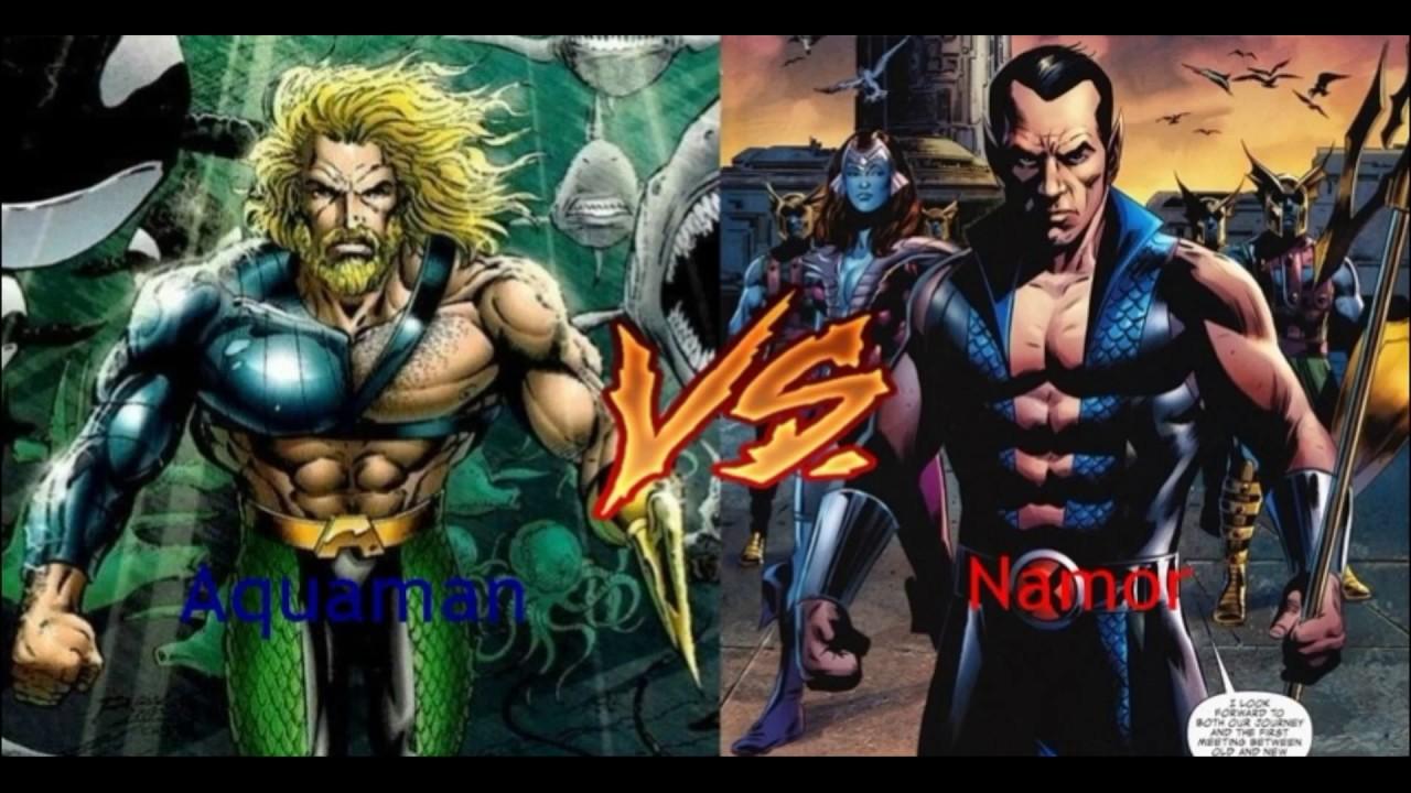 Aquaman Dc Oder Marvel