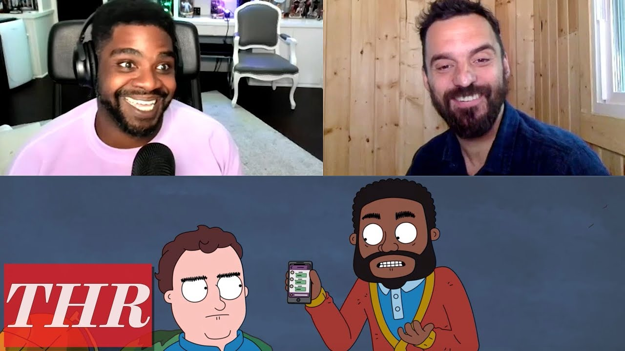 Netflix's 'Hoops': Jake Johnson, Ron Funches & More Voice Actors Talk Animated Show | THR Interview