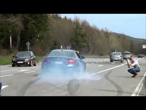 BMW M4 W/ Akrapovic Exhaust - Crazy Driving!