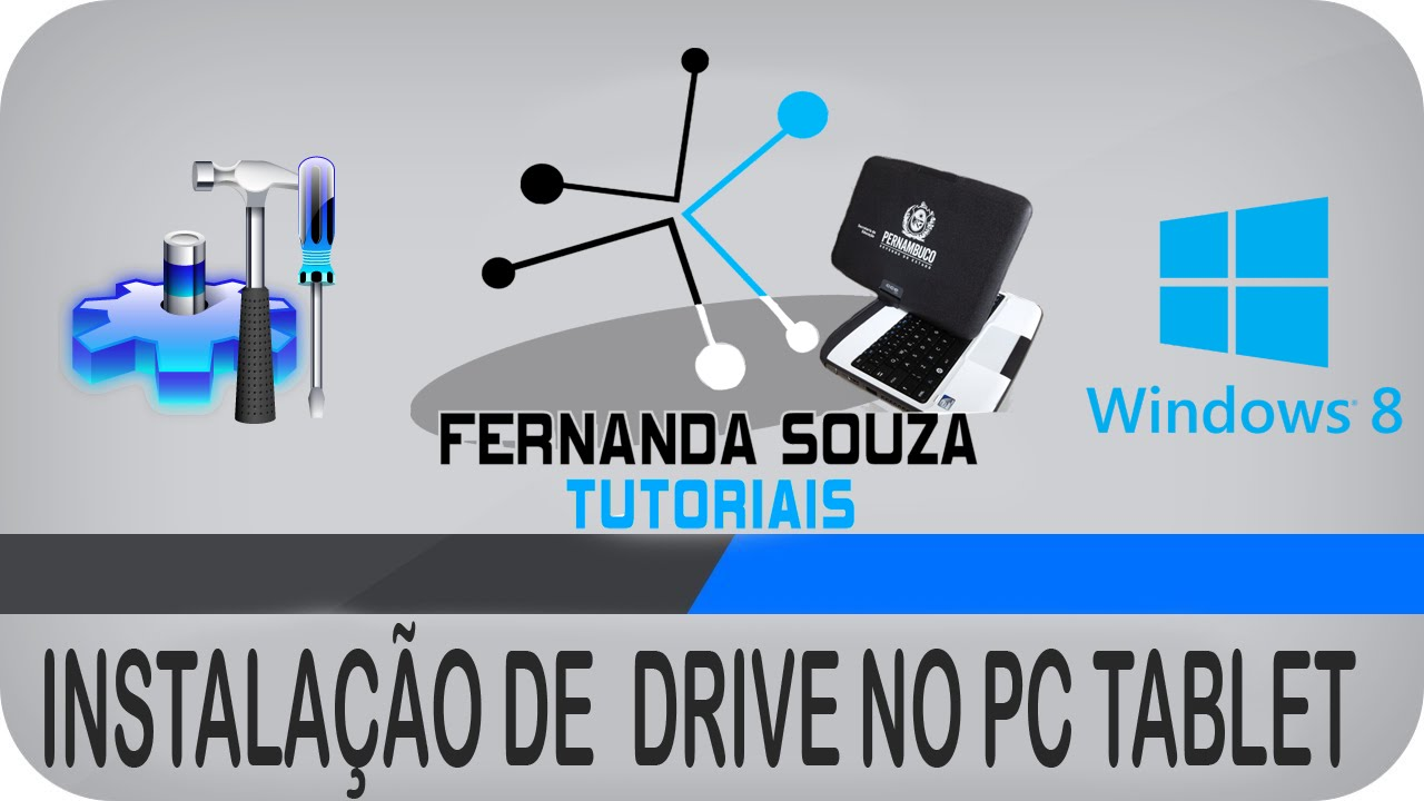 Como Baixar e Instalar os Drives do Pc Tablet da Cce com o Windows 8