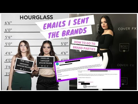 Asking Brands to Send Me Free Makeup | Getting on a PR List | JackieFlores