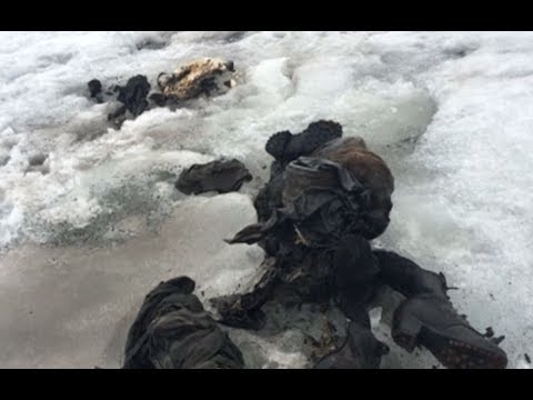Swiss glacier reveals bodies of couple missing after 75 years