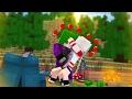 Minecraft: CORINGA BEIJOU A ARLEQUINA?! - ACAMPAMENTO DE VILÕES #1