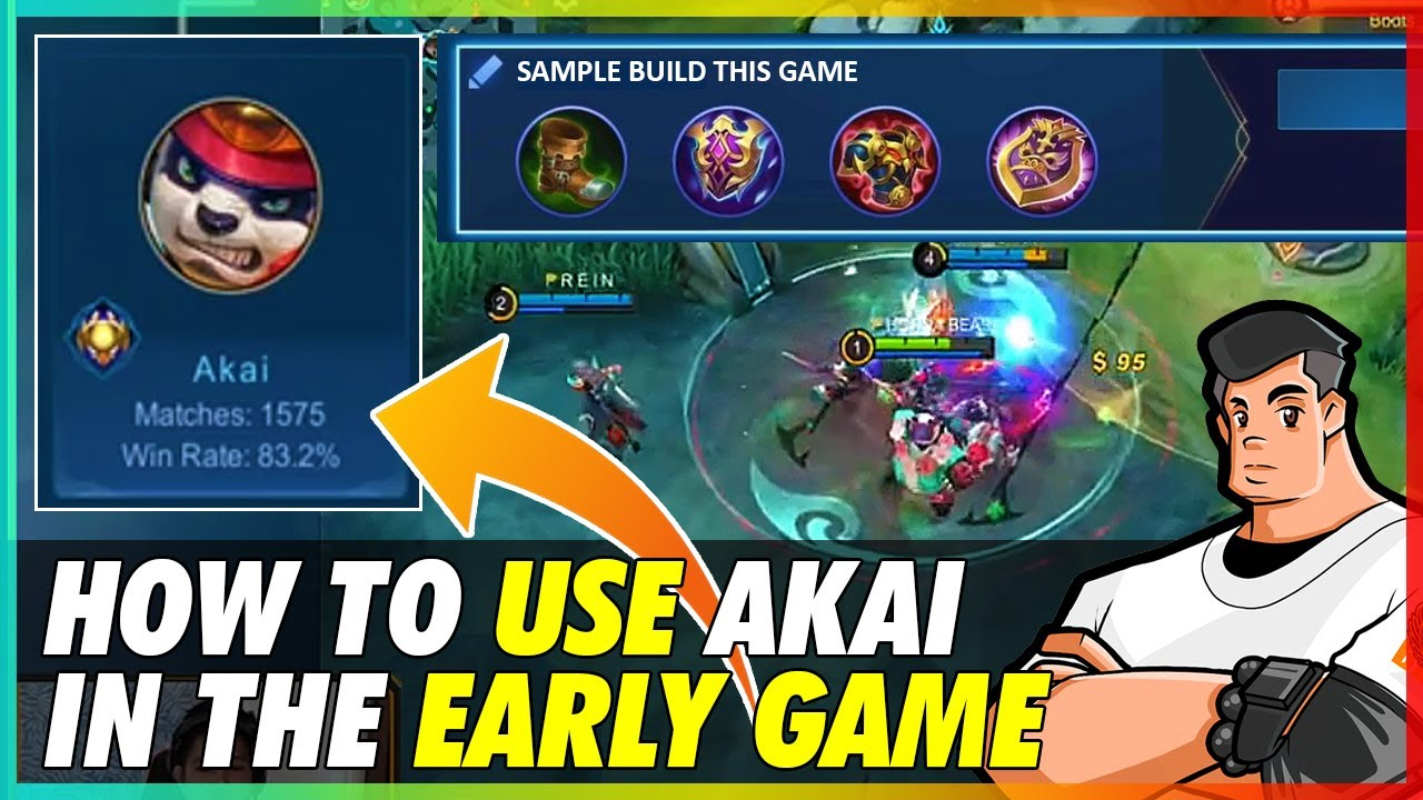 How to use AKAI in EARLY GAME | MLBB
