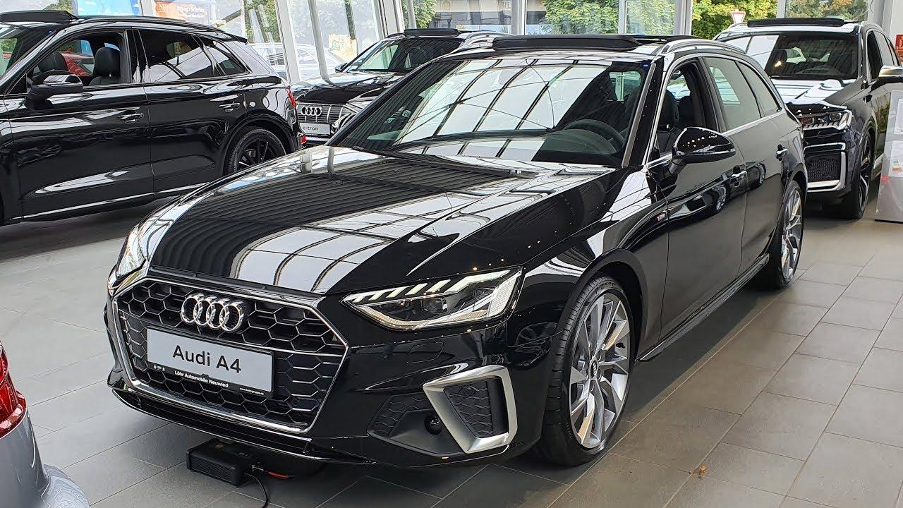 2020 Audi A4 Avant S Line 40 Tfsi S Tronic Visual Review Youtube