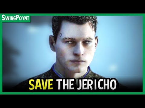 Detroit Become Human - How to SAVE JERICHO & Decommission Connor - Humans DON'T Attack Jericho