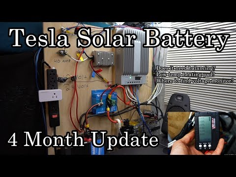 DIY Tesla Solar Battery - Mobile Solar Power Made Easy!