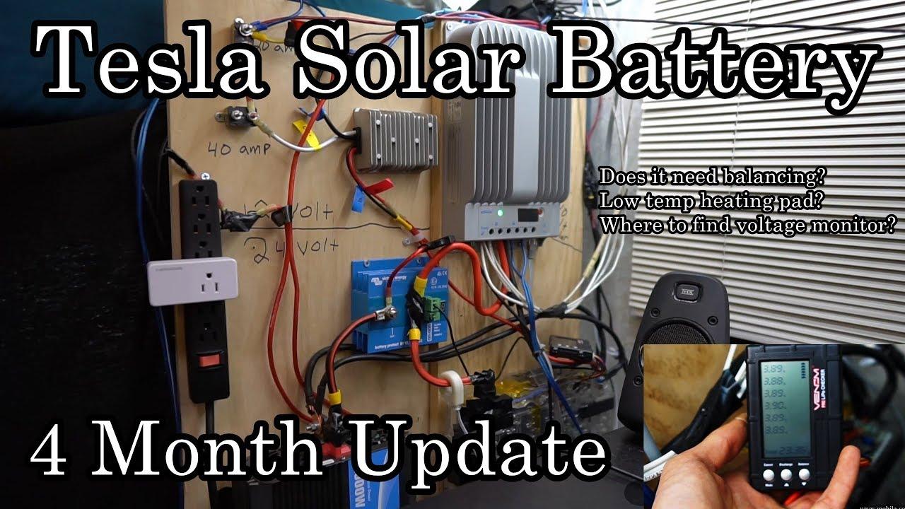 DIY Tesla Solar Battery - Mobile Solar Power Made Easy!