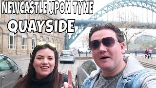 NEWCASTLE QUAYSIDE | A WALK ALONG THE QUAYSIDE