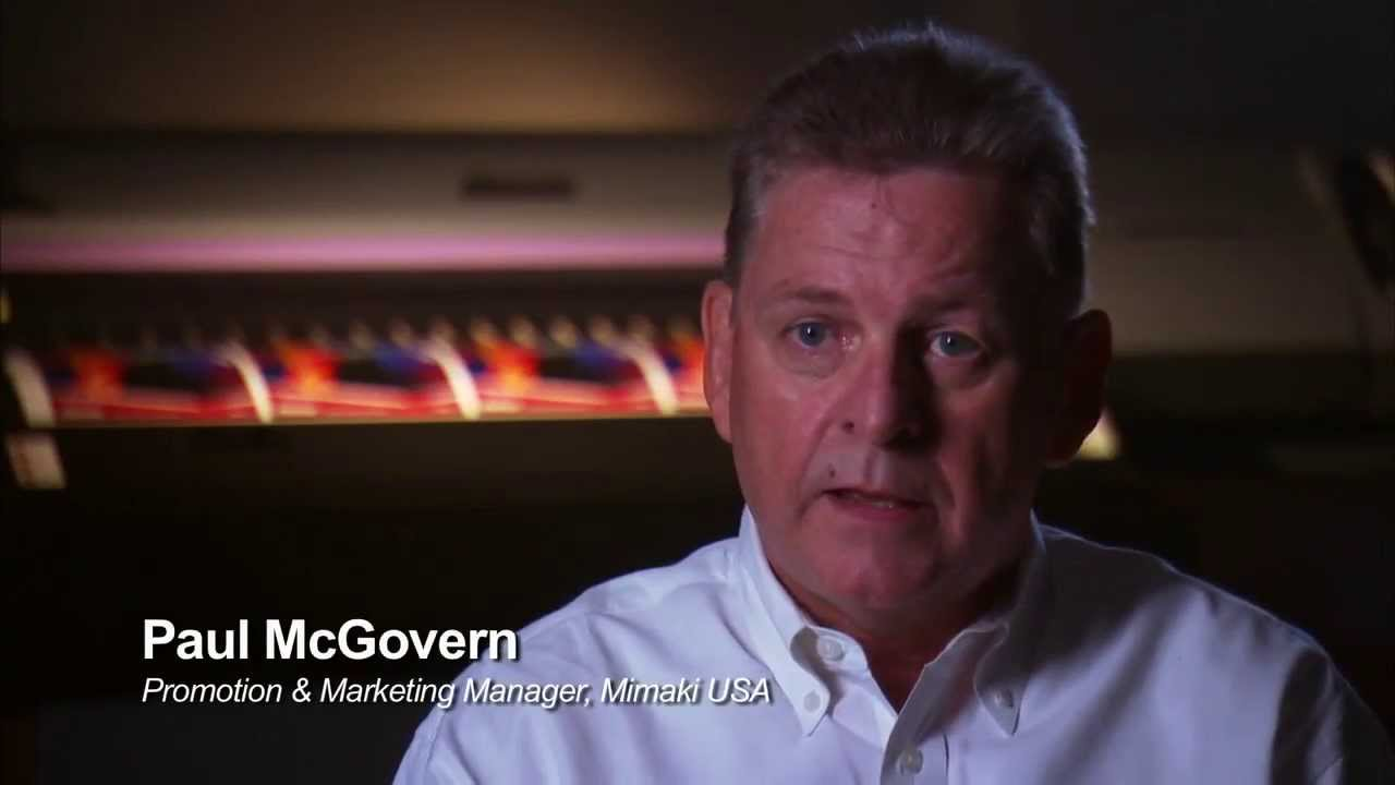 Mimaki USA on Innovations with Ed Bedley, Jr  via Discovery Channel