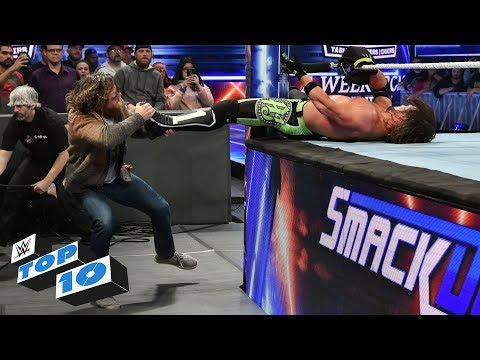 Top 10 SmackDown Live moments: WWE Top 10, December 5, 2018 thumbnail