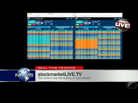 Vieira Live Trading Sell Amazon stock Ahead of Stock Market Crash 2016