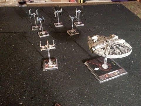 11th Legion BatRep X-Wing Miniatures Game: Hans Wrath
