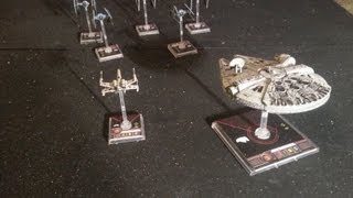 11th Legion BatRep X-Wing Miniatures Game: Hans Wrath