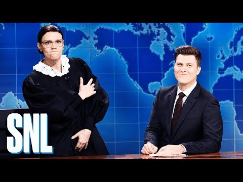 Weekend Update: Justice Ruth Bader Ginsburg on Brett Kavanaugh - SNL