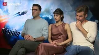 Interview Zachary Quinto, Sofia Boutella & Chris Pine STAR TREK BEYOND