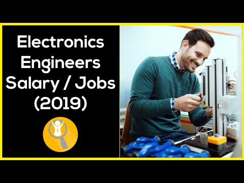 Electronics Engineer Salary (2019) – Electronics Engineer Jobs
