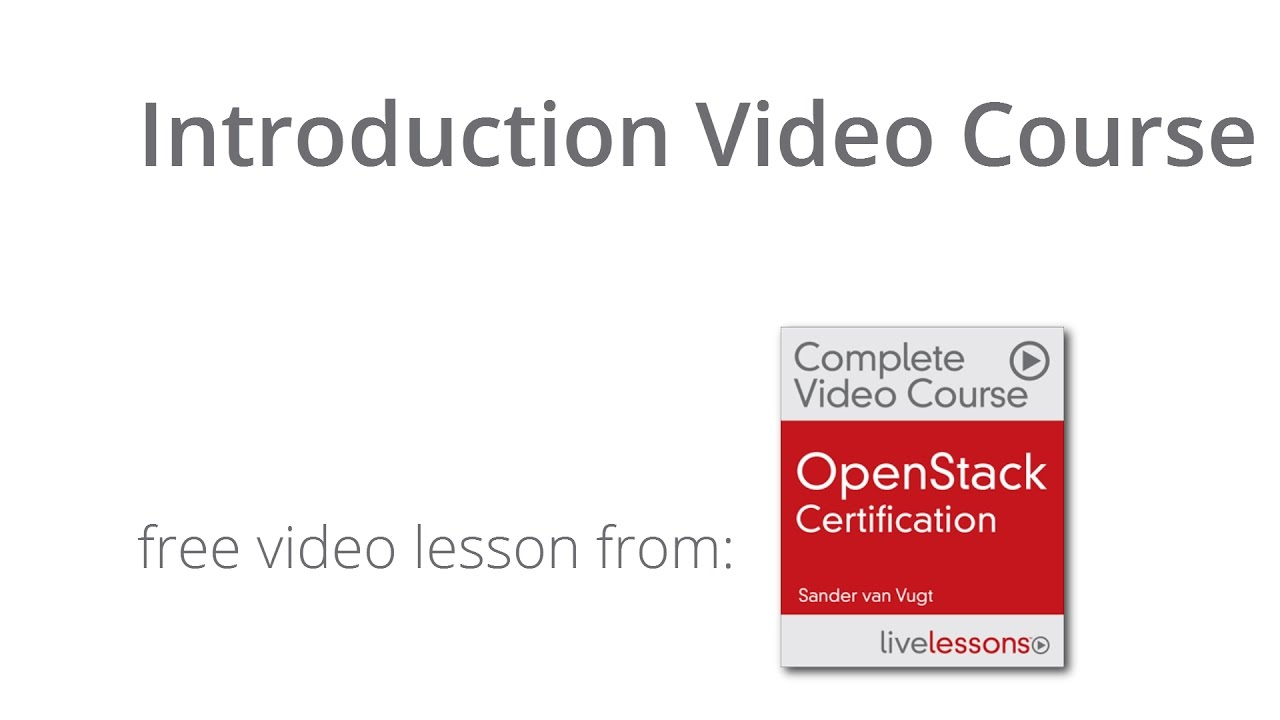 Openstack Certification Video Course Openstack Training Rhcsa In