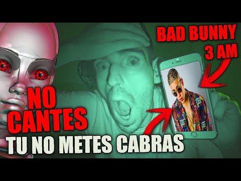 NO CANTES TU NO METES CABRA DE BAD BUNNY A SIRI A LAS 3 AM O PASA ESTO 😱