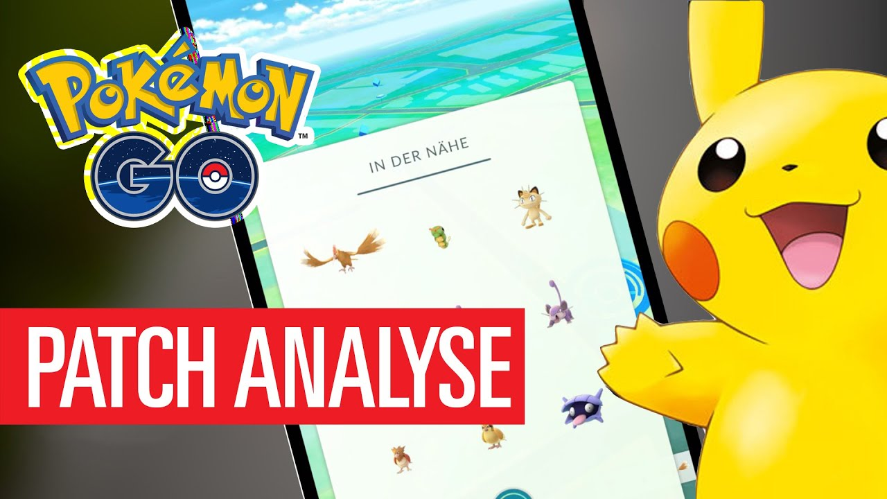 Pokémon Go Update Ios 111 Android 0310 Patch Analyse Youtube