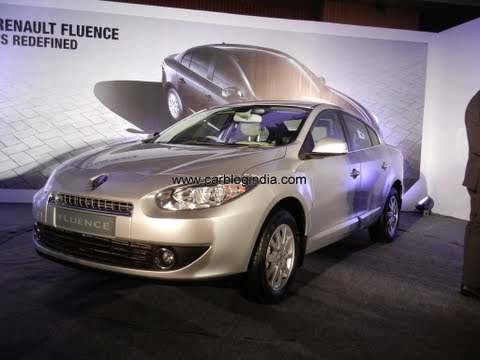 Renault Fluence E4D Diesel Exteriors And Interiors Walk Around Review