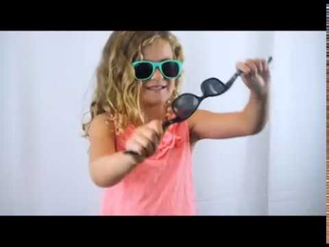 4bfb36c360 Watch Kids Try   Break Roshambo Baby Sunglasses - YouTube