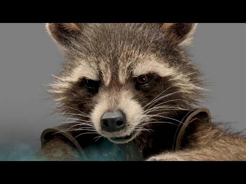 """GUARDIANS OF THE GALAXY """"Rocket Racoon"""" Character Trailer"""