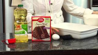 How To Make Chewy Brownies From Cake Mix : Sugar & Spice
