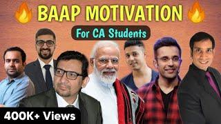 BAAP MOTIVATION   Motivation for CA Students   CA Motivational Video   Shubham Gupta  
