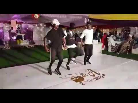 WEDDINGS ENTERTAINMENT BY |THE FREAK SWAG DANCERS| ON FIRE Yope Remix Dance Style
