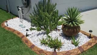 33 примера как садовый бордюр может изменить ваш сад