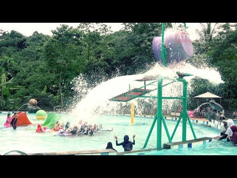 Waterboom di Cibalung Happy Land, Seru!!